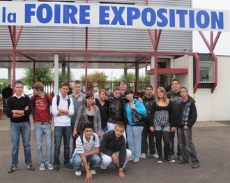 1BPCO 2010 2011 à la foire expo à Périgueux