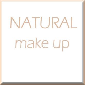 Natural Make up