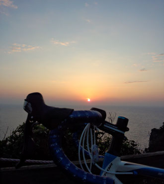 アンカー君と朝陽♪