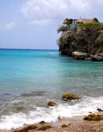 Strände - Playa Piscado - Playa Grandi  - Urlaub auf Curacao