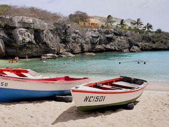 Strände - Playa Lagun  - Urlaub auf Curacao