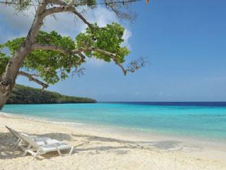 Strände - Playa Santa Barbara  - Urlaub auf Curacao