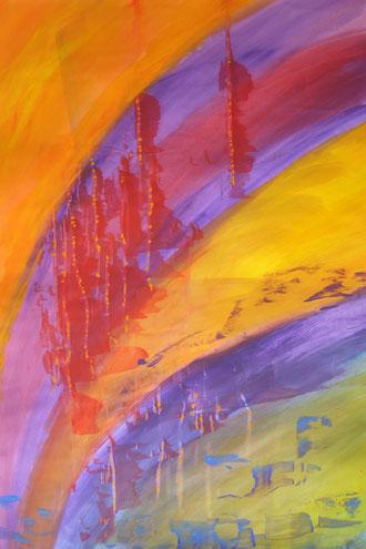© 2012 Goldregen - Gouache auf Papier 60 x 80 verkauft