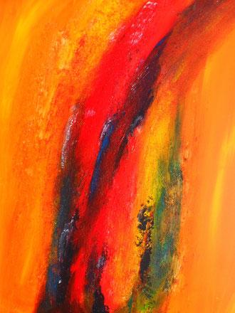 © 2012 Überschäumende Freude - Acryl auf Leinwand 60 x 70