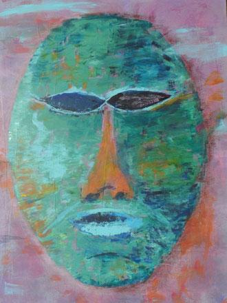 © 2013 Nur eine Maske - Acryl auf Leinwand 60 x 80