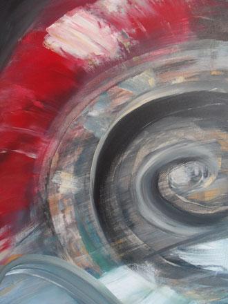 © 2014 Nautilus - Acryl auf Leinwand 50 x 80  verkauft