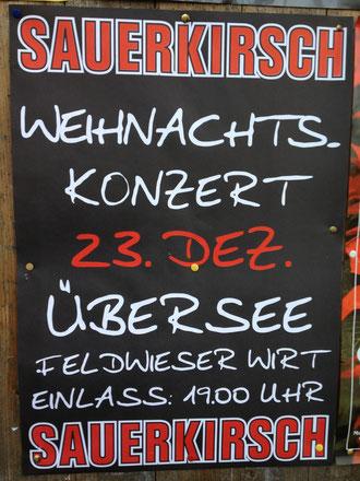 Konzertplakat von  Sauerkirsch
