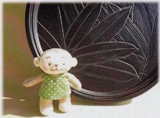 漆器と人形二人展