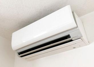 家庭用壁掛けエアコンお掃除機能つき