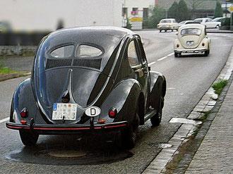 VW brilkever, 1946-1953 - daarvoor eeen late jaren '60 Kever