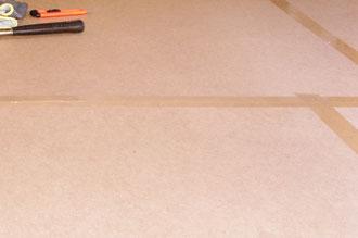 Bodenabdeckung bei Renovierung und Sanierung