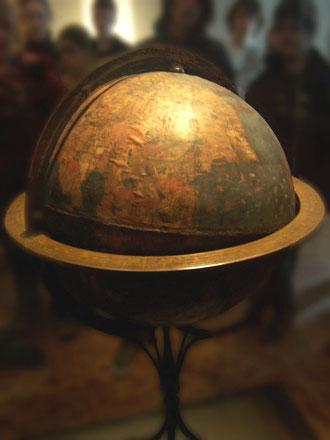 Behaim-Globus im Germanischen Nationalmuseum Nürnberg. Aufnahme von Alexander Franke, CC BY-SA 2.0 de, Wikimedia commons