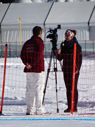 TV Südostschwiez interviews