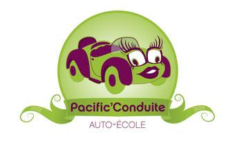 Logo Pacific'Conduite - Claira 66