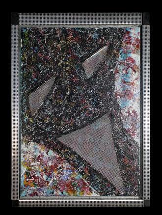 Kunst Veronika Matzner Acryl Aluminium Leinwand