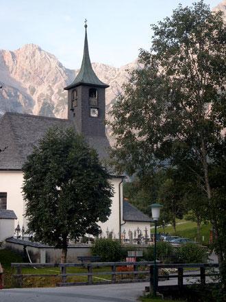 Die Kirche von Hinterthal