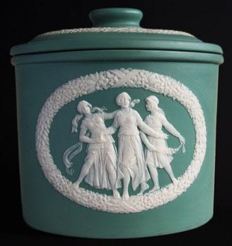 Jean Baptiste Stahl Phanolith Porzellan Relief Cameo Mettlach Saar Villeroy Boch