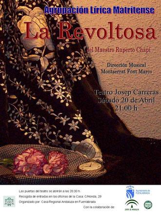 Proxima actuación en Fuenlabrada el 20 de Abril