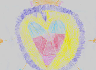 Мандала в детском рисунке