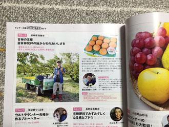 マラソンで柿をPRする柿農家
