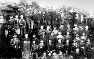 Die Eisenbahn gab Hunderten von Beschäftigten in Gütersloh Arbeit