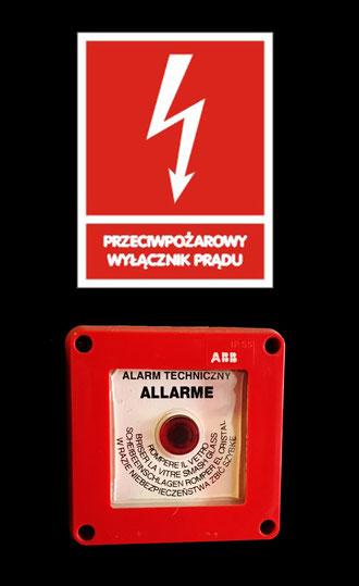 przeglądy przeciwpożarowego wyłącznika prądu