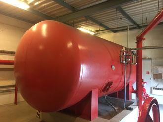 zbiornik hydroforowy ppoż. czyszczenie