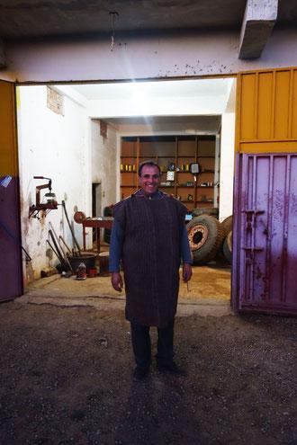 Mustafa notre hôte