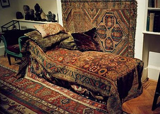 Cabinet- divan de S.Freud