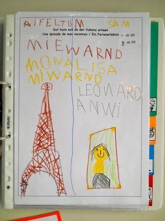 Portfolioeintrag zum Ferienerlebnis in Paris