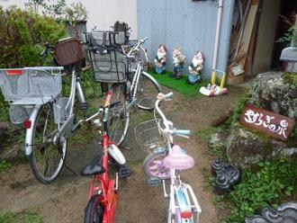 自転車は必需品