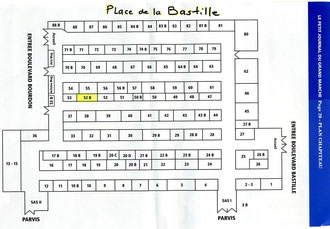 Plan du chapiteau