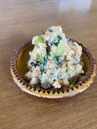 小松菜おから煮