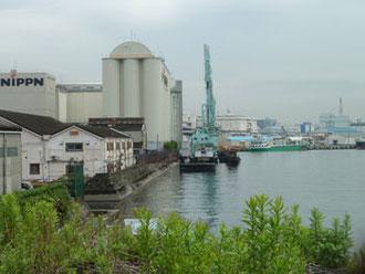 横浜市神奈川区・日本製粉横浜工場(NIPPN)
