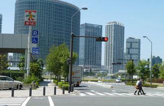 横浜市・みなとみらいのマンション群