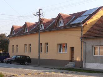 Haus I - Wohnhaus für zwei Kinderguppen, Wäscherei