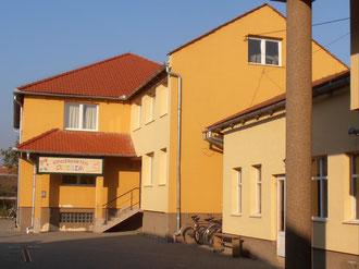 Haus II - Kindergarten, Büros, Räume für die Nachmittagsgestaltung