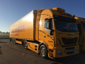 Mehr Umweltschutz durch Euro 6 Motoren und Ecotrailer