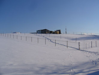 Margas Eselberg im Winter