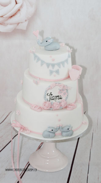 Tauftorten, Baby Shower Torten - Danielas Cake Dream