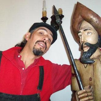 Celebrando con el Hidalgo el término de la semana dedicada al libro, ¡¡¡ tantos cuentos compartidos !!! 30.04.2012