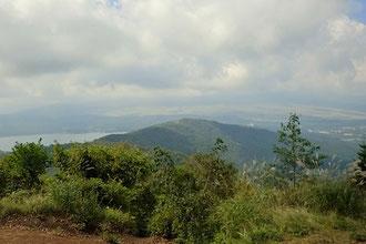 石割山から富士山