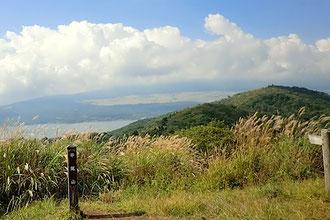 平屋山から大平山と富士山