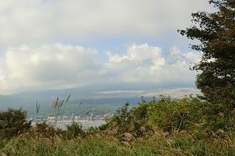 長池山から富士山