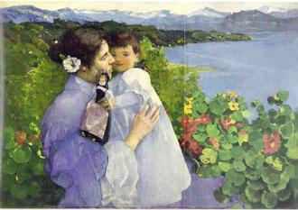 Max Buri, Mutter und Kind 1901