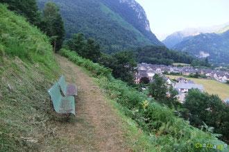 N°17/ Fauchage de la traversée du Poey face au Village d'Accous, du très bon travail obtenu à la troisième semaine de juillet !