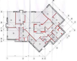 планировка 5ти комнатной квартиры - жк воробьевы горы.