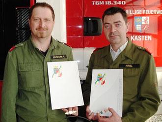 Johannes Hausmann und Franz Kübel als neue Träger des NÖ FULA.