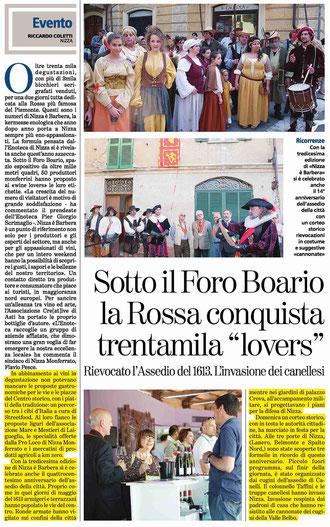 Articolo La Stampa del 14-05-2013