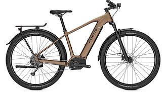 Focus Aventura² Trekking e-Bike 2019 sandfarben